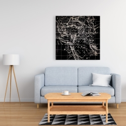 Canvas 36 x 36 - Old maritime maps