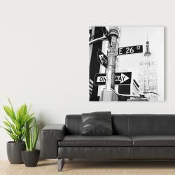 Canvas 36 x 36 - New york city street signs