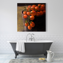 Canvas 36 x 36 - Bucket of cherry tomatoes