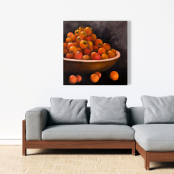 Canvas 36 x 36 - Bowl of cherry tomatoes