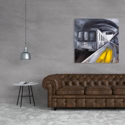Canvas 36 x 36 - Subway