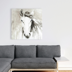 Canvas 36 x 36 - Beautiful abstract horse