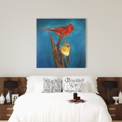 Canvas 36 x 36 - Birds on a branch