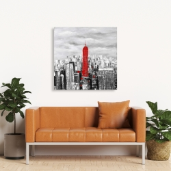 Canvas 36 x 36 - Empire state building of new york