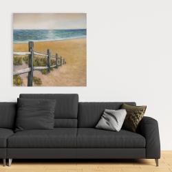 Canvas 36 x 36 - Quiet seaside