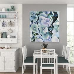 Canvas 36 x 36 - Hydrangea plant