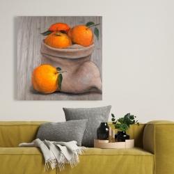 Canvas 36 x 36 - Bag of oranges