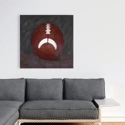 Canvas 36 x 36 - Football ball