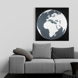 Canvas 36 x 36 - Earth