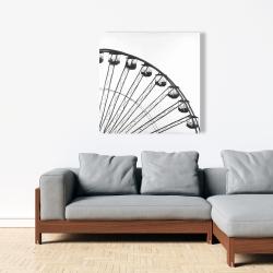 Canvas 36 x 36 - Quarter of a ferris wheel