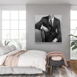 Canvas 36 x 36 - Businessman