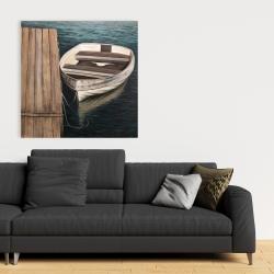 Canvas 36 x 36 - Rowboats