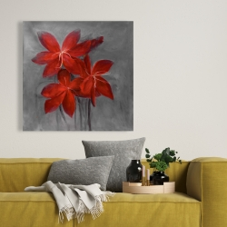 Canvas 36 x 36 - Asiatic lily