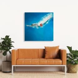 Canvas 36 x 36 - Diving jump
