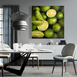Canvas 36 x 36 - Basket of limes