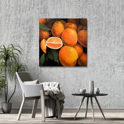Canvas 36 x 36 - Fresh oranges