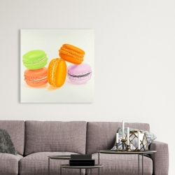 Canvas 36 x 36 - Small bites of macaroons