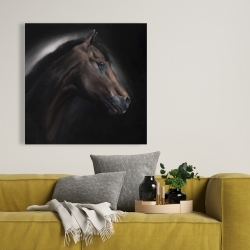 Canvas 36 x 36 - Loneliness horse