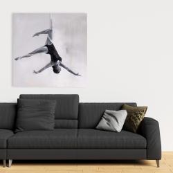 Canvas 36 x 36 - Dancer on aerial silks