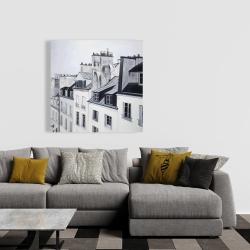 Canvas 36 x 36 - Historical buildings