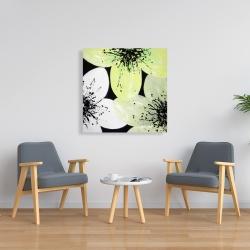 Canvas 36 x 36 - White & yellow petals