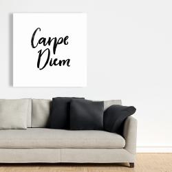 Canvas 36 x 36 - Carpe diem