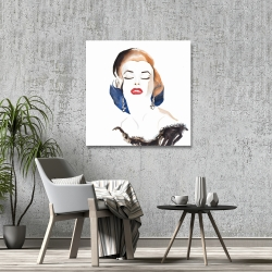 Canvas 36 x 36 - Vintage chic maryline monroe
