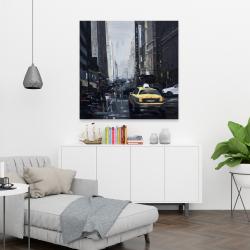 Canvas 36 x 36 - New york in the dark