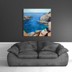 Canvas 36 x 36 - California coast