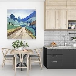Canvas 36 x 36 - Tuscany trail