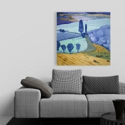 Canvas 36 x 36 - Tuscany field