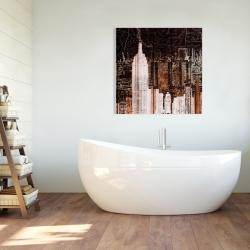 Canvas 36 x 36 - The empire city of newyork