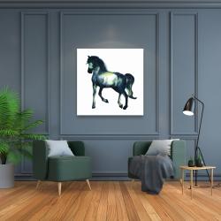 Canvas 36 x 36 - Elegant horse