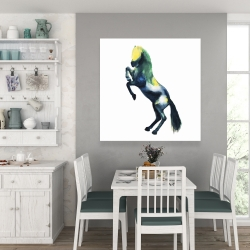 Canvas 36 x 36 - Greeting horse