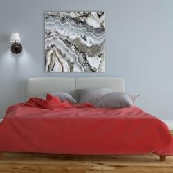 Toile 36 x 36 - Géode abstraite