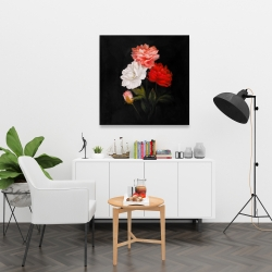 Canvas 36 x 36 - Small bundle of roses