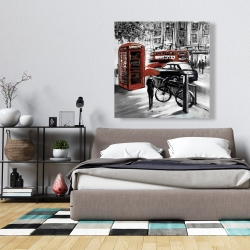 Canvas 36 x 36 - European street