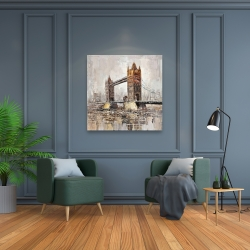 Canvas 36 x 36 - London tower bridge