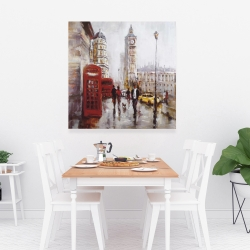 Canvas 36 x 36 - The big ben at london