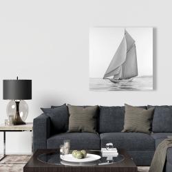 Canvas 36 x 36 - Vintage sailing ship