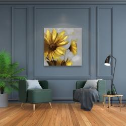 Canvas 36 x 36 - Mountain arnica flowers