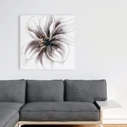Canvas 36 x 36 - Purple orchid