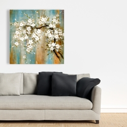 Canvas 36 x 36 - Relaxing cherry blossoms