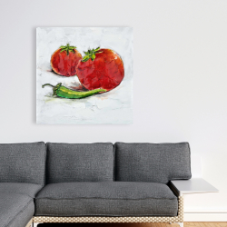 Canvas 36 x 36 - Tomatoes with jalapeño