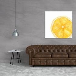 Canvas 36 x 36 - Lemon slice