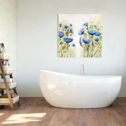 Canvas 36 x 36 - Blue garden