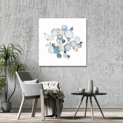 Canvas 36 x 36 - Round pebbles