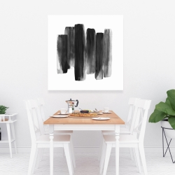 Canvas 36 x 36 - Black shapes