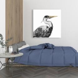 Canvas 36 x 36 - Great heron