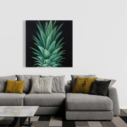 Canvas 36 x 36 - Pineapple leaves